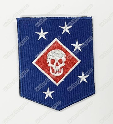 WG118 USMC Force Recon MARSOC Raiders Speical Unit Patch With Velcro - Full Colour