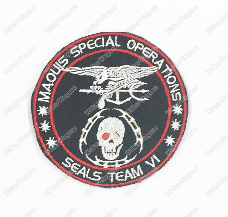 WG083 Maquis Special Operations SEALS TEAM VI Patch With Velcro - Full Color