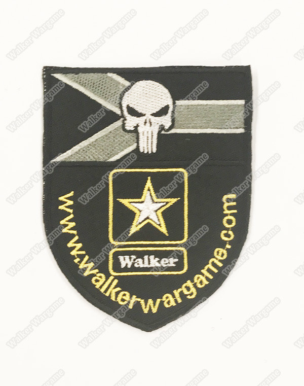 WG091 Walker Wargame With RSA Flag Patch With Velcro - Full Color