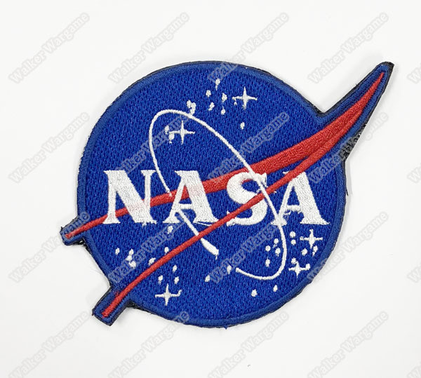 WG102 NASA National Aeronautics and Space Administration Patch With Velcro - Full Colour