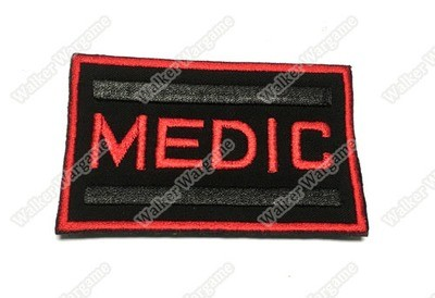 PB712 US Army Field Medic Patch With Velcro - Full Colour