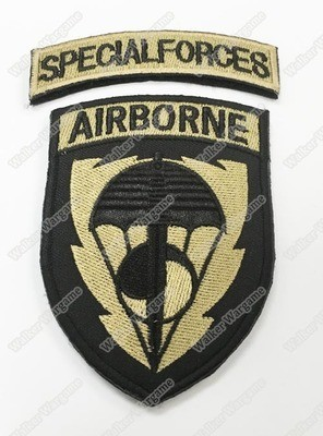 WG048 US Southern Speical Force Patch With Velcro - Full Color