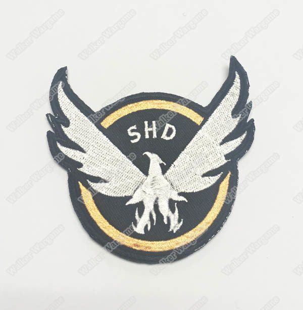 WG057 SHD Search Results Strategic Homeland Division Patch With Velcro - Full Colour