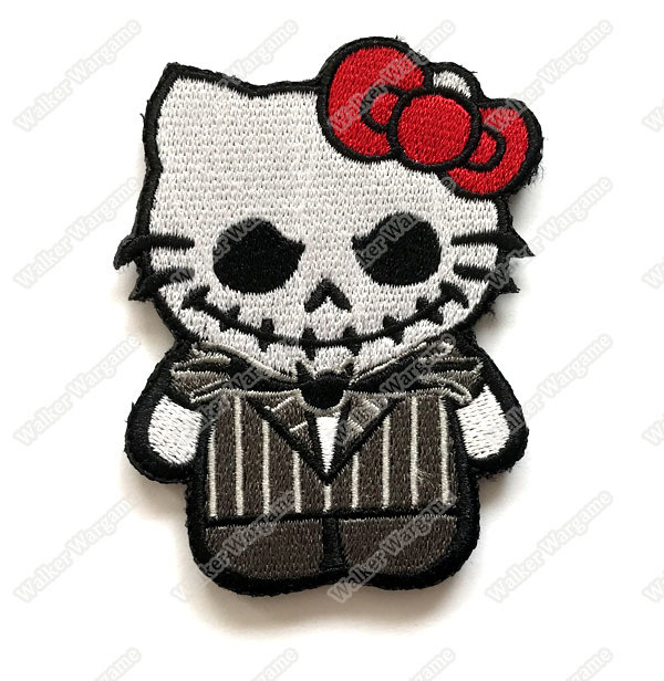 WG062 Hello Kitty Joker Patch With Velcro - Full Color