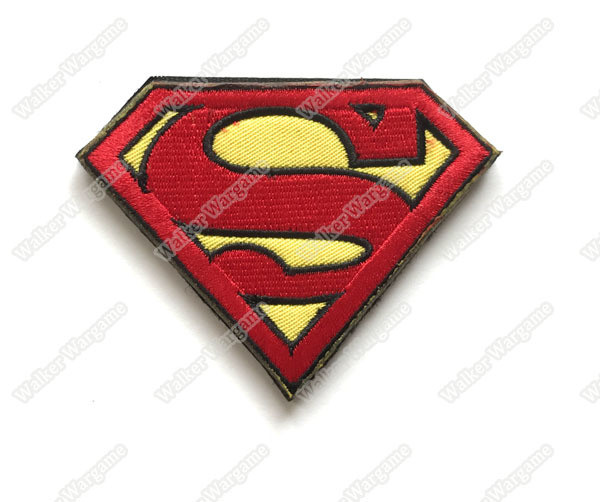 WG067 The Avengers - Super man Patch With Velcro - Full Color