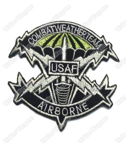 WG009 US Air Force Combat Weather Team Patch With Velcro - Full Colour