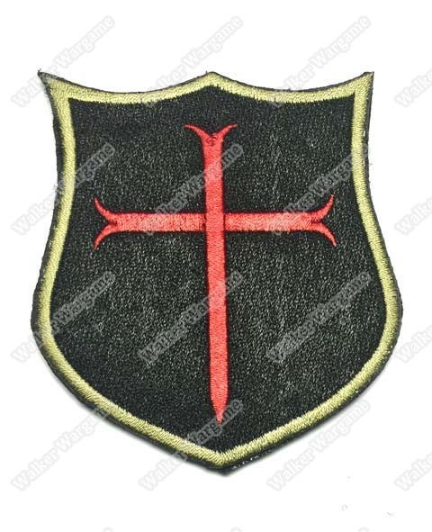 WG008 Navy SEAL Medieval Crusaders Patch With Velcro - Full Colour