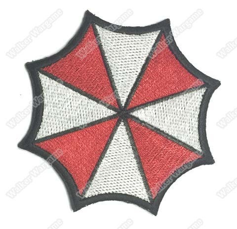 WG004 Resident Evil - Umbrella Corporation Patch With Velcro - Full Colour