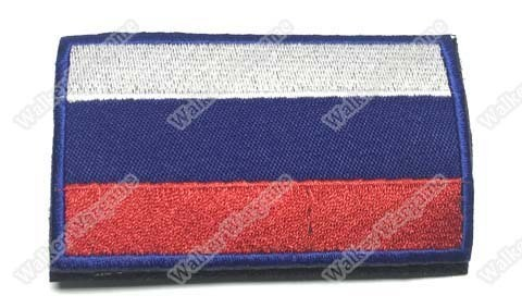 WG005 Russia Flag Patch With Velcro - Full Colour