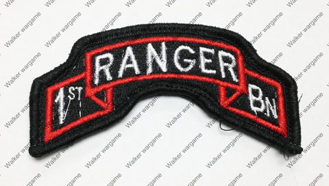 B1826 US Army Special Force 1st Ranger Patch With Velcro - Full Colour