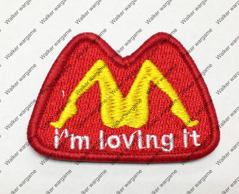 B2355 I am Love It Chapter Morale Patch With Velcro - Full Colour