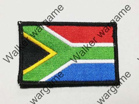 SB250 RSA South Africa Flag Right Arms With Velcro - Full Colour