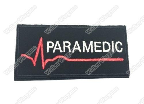 PB941 Tactical Unit Para Medic Patch With Velcro - Black Colour