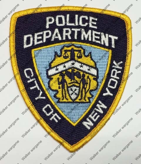 NB300 NYPD New York Police Department Patch - Full Colour