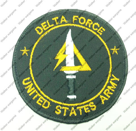 B1853 US Army Special Force Delta Force Patch With Velcro - Full Colour