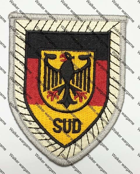 SB253 Germany Army Armored Division Patch - Full Colour