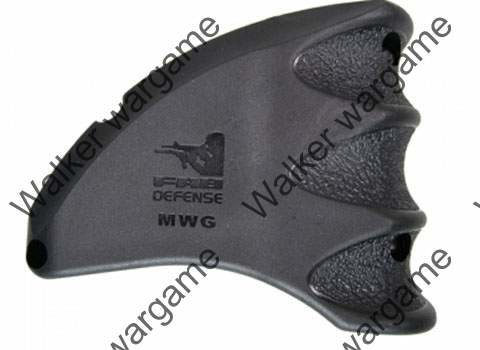 Tactical Magazine Well Grip and Magwell Funnel Foregrip for M16 M4 - Black