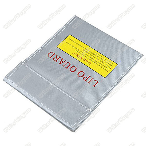 Silver Fiber Li-Po Lipo Battery Safety Bag Fireproof LiPo Guard 18x23cm Anti-Fire