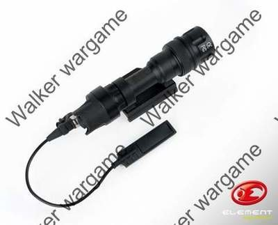 M962V Full Metal Tactical Rifle LED Flashlight Build With RIS Mount - BL