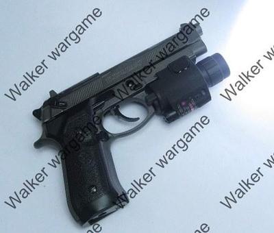M6 Tactical Pistol Flashlight & Red Laser