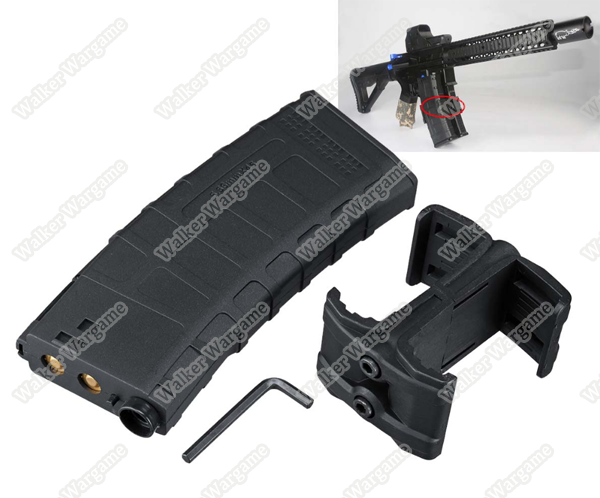 Double Mag Holder , Tactical Magazine Clip With Double Mag Holder For M4