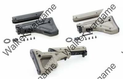 Tactical BD MP Utility / Battle Rifle (UBR) Stock - Tan Black