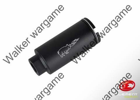 Full Metal Fire Pig Noveske Style M4 Flash Hider - Black