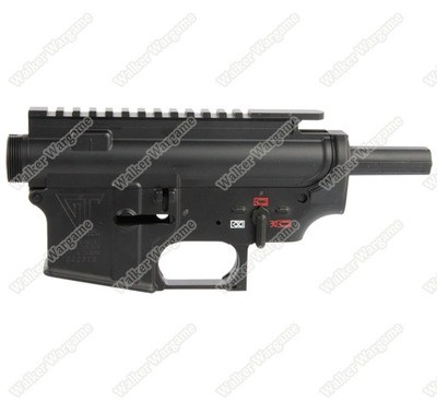 GG AEG M4 M16 AR15 Full Metal Body Metal Receiver Set for GC Mark - Black