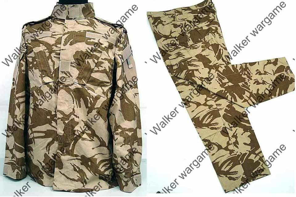 BDU Battle Dress Uniform Full Set - British Army Desert DPM Camo