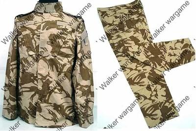 BDU Battle Dress Uniform Full Set - British Army Desert DPM Camo