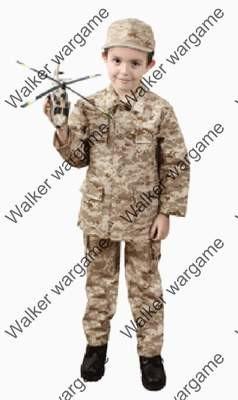Children Kids Full Set Camo Uniform - US Marine Digital Desert Marpat