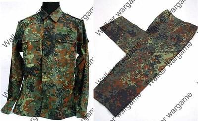 BDU Battle Dress Uniform Full Set - German Army Woodland Flecktarn Camo