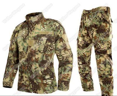 BDU Battle Dress Uniform Full Set - Special Force Mandrake Camo MR