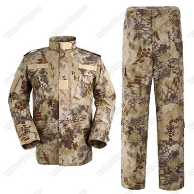 BDU Battle Dress Uniform Full Set - Special Force HLD High Lander Camo