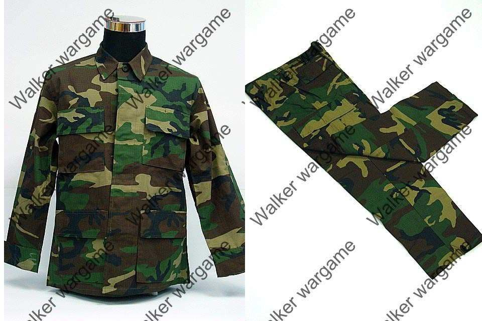 BDU Battle Dress Uniform Full Set -  US Army Woodland