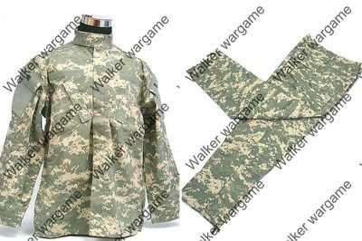 BDU Battle Dress Uniform Full Set -  US Army ACU
