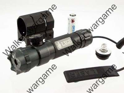 532nm Green Dot Laser with External Adjust & Pressure Pad & Mount Base