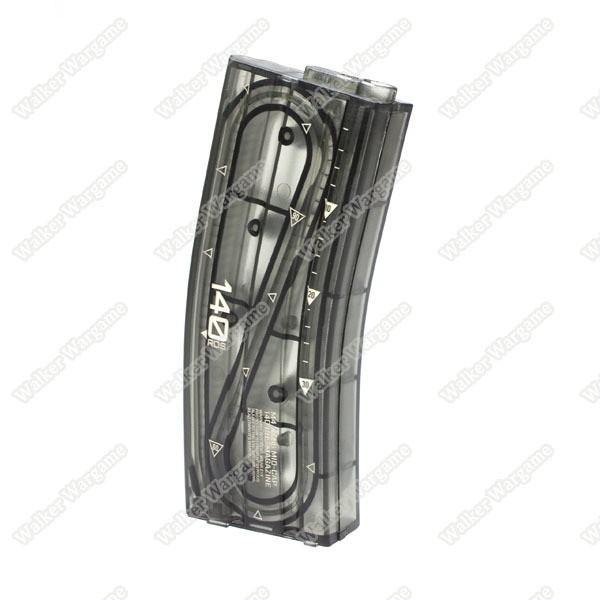 ARES M4 TP 140rds M16 Mid Cap Magazine for M4 / M16 AEG - Transparent