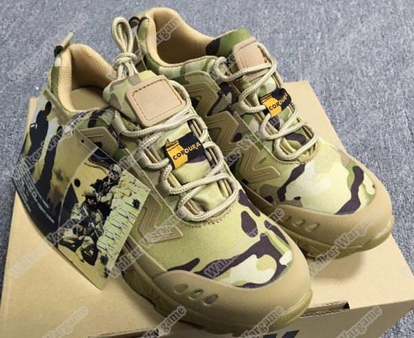 Wolf Tactical Urban Light Weight Ranger Boots Run Shoe- US Special Force Multicamo