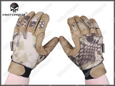 Emerson Camo Tactical Lightweight Gloves - HLD High Lander Camo
