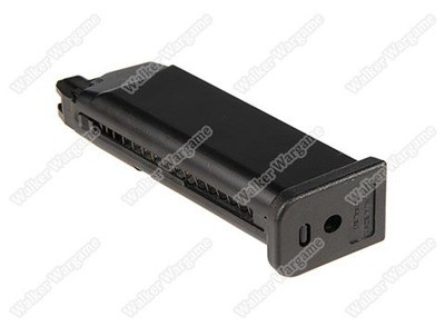 WE 23rd Pistol Magazine For Glock 19 GBB Black
