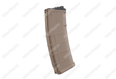 WE Tech 30Rds Green Gas Magazine For MSK Masada ACR - Tan