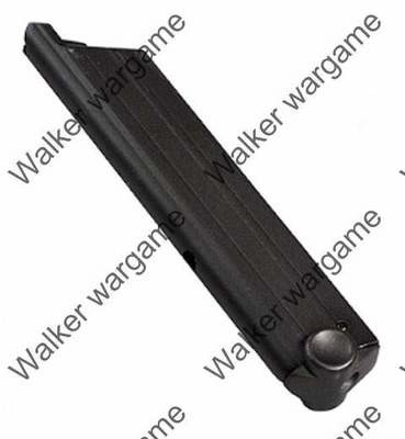 WE 15rd Pistol Magazine For Luger 08 Pistol GBB Black