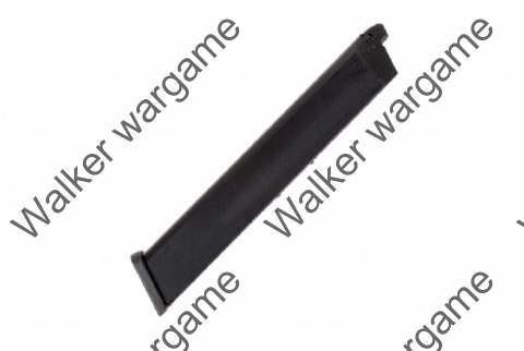 WE 50rd Pistol Long Magazine for Beretta M9 Z88 GBB Black (Happy Sticks)