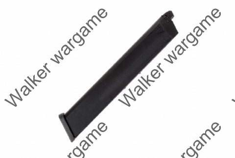 WE 50rd Pistol Long Magazine for Glock 17 19 18c 23 26 32 GBB Black (Happy Sticks)