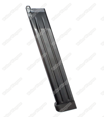 WE 50rds Long Magazine For HICAPA 4.3 5.1 7inch GBB Airsoft Pistol Mag