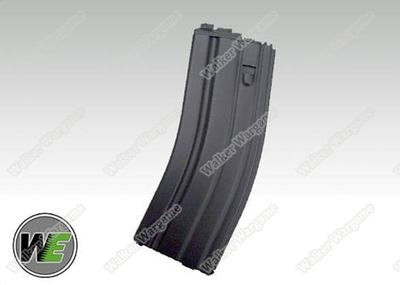 WE M4 / SCAR / ASC / PDW Series Airsoft Gas Blowback Rifles Green Gas Mag - Black