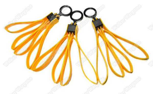 TMC0397 Tactical Plastic Cable Tie Strap Handcuffs - Yellow