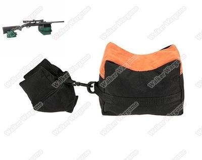 Shooting Rest Bags, Front Rear Shooting Sand Bag Sandbag for Hunting Hunter Shooter - Mandrak Camo