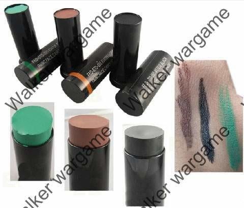 Army Camo Face Paint Compact Makeup 3 Colour Set